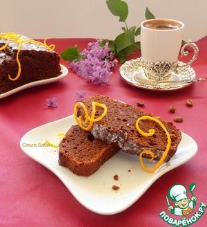 Рецепт Шоколадно-яблочный пирог