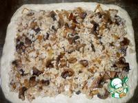 Пирог с рисом и грибами ингредиенты