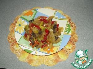 Рецепт Сотэ из овощей