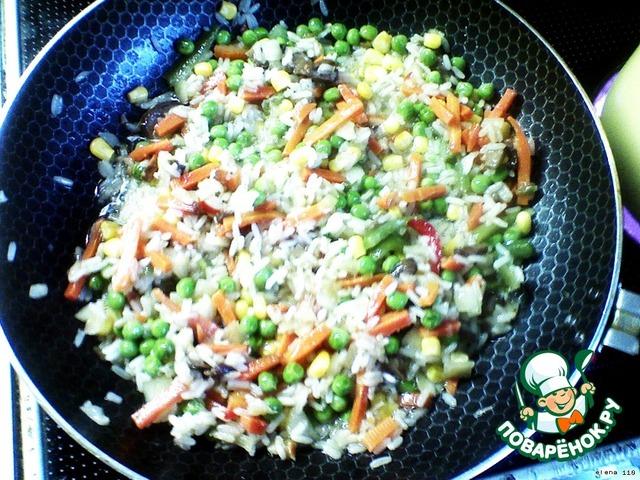 Как приготовить Печеночное  суфле с овощами рецепт с фото #1