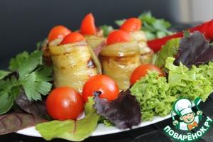 Рецепт Баклажаны, фаршированные фасолью