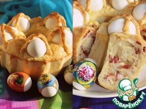 Рецепт Неаполитанский Пасхальный каравай. Neapolitan Easter Loaf