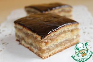 """Рецепт Венгерский пирог """"Жербо"""""""