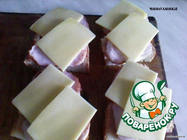 """""""Горячие бутерброды"""" домашний рецепт с фотографиями как приготовить #5"""