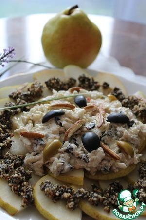 Рецепт Карпаччо из козьего сыра с грушей