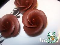 Шоколадная мастика и розочки из неe ингредиенты