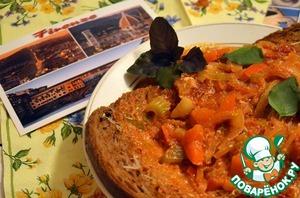 Рецепт Аквакотта-тосканский хлебный суп