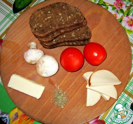 Домашние бутерброды с пошагово в