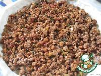 Киш с мясным фаршем и грибами ингредиенты