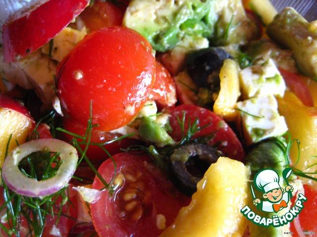 рецепты салатов с томатным соком