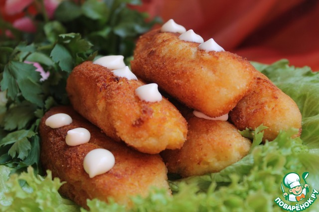 Колбаски из творога рецепт