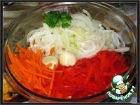 Баклажаны по-корейски ингредиенты