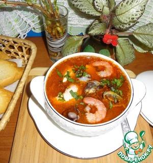 Рецепт Итальянский рыбный суп