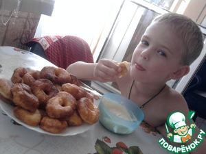 Творожные пончики рецепт с фото пошагово готовим