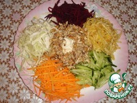 Французский салат ингредиенты