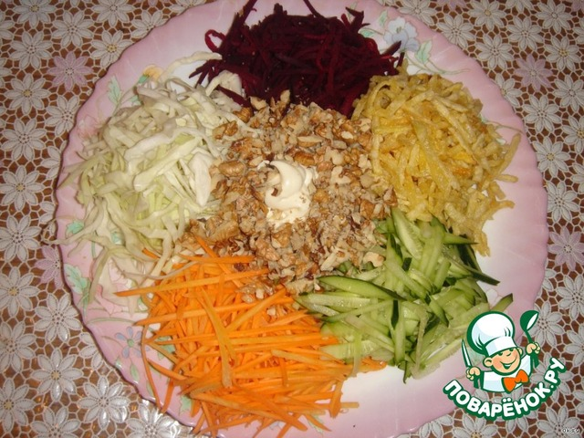 салат французский рецепт калорийность