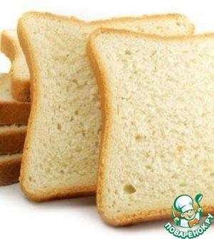 Рецепт Быстрый белый хлеб