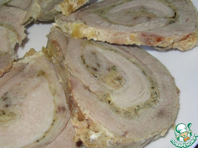 Рулет из свинины пошаговый рецепт с