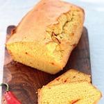 Хлеб с перцем Чили и сыром Чеддер