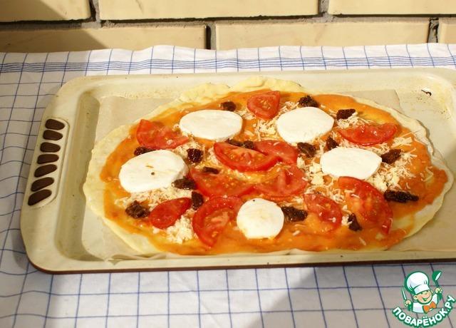 Пицца моцарелла классическая рецепт 137