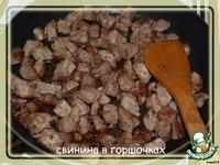 Свинина в горшочках ингредиенты