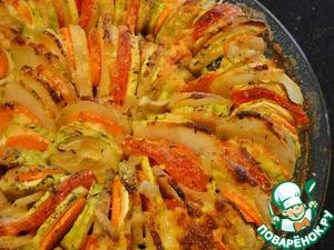 Рецепт Овощная запеканка по-итальянски