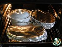 Картофель с опятами, томленый в сливках, под сырной корочкой ингредиенты