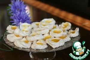 Рецепт Итальянские меренги с лимонным курдом
