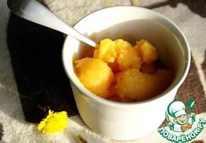Как готовить Сорбет из красных апельсинов вкусный рецепт с фотографиями пошагово