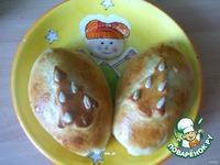 """Пирожочки """"Елочки"""" - кулинарный рецепт"""