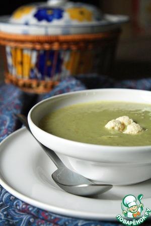Рецепт Постный гороховый суп-пюре с овощами