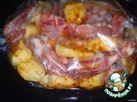 Свиные ребрышки с картошкой ингредиенты