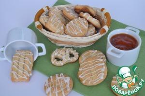 Рецепт Абрикосовое печенье с виски