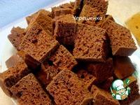 Шоколадный торт с творожно-йогуртовым кремом ингредиенты