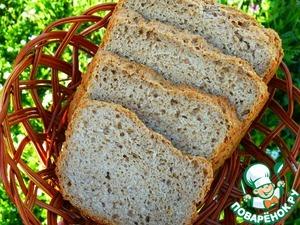 Рецепт Хлеб ржано-пшеничный постный