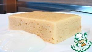 Рецепт Суфле творожное с печеньем на пару