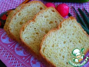 Рецепт Постный хлеб из овсяных хлопьев, кукурузной и пшеничной муки