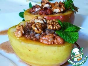 Рецепт Гречка в яблоках