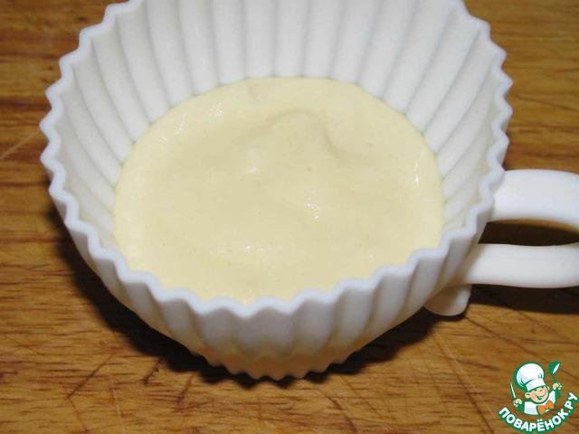 Заварной крем кексов рецепт фото