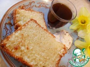 Рецепт Кекс масляно-бисквитный классический