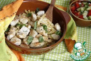 Рецепт Гратин из пасты и куриных грудок по-итальянски