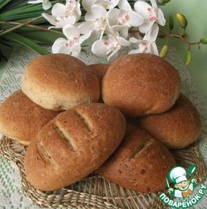 Рецепт Мульти-злаковые булочки и мини-батончики