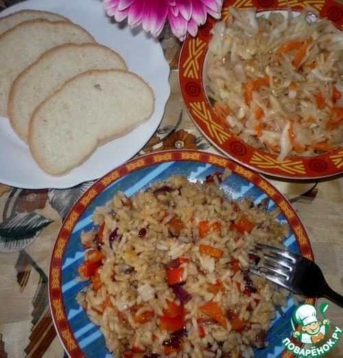Готовим рис с овощами - рецепт с фото пошагово - Своими Руками