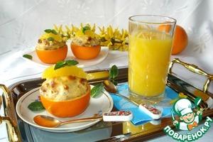 Рецепт Нежный апельсиново-пряный десерт