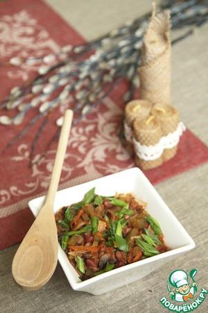 Рецепт Солянка с фасолью и вустерширским соусом