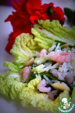 Рецепт Тайский салат с рисом