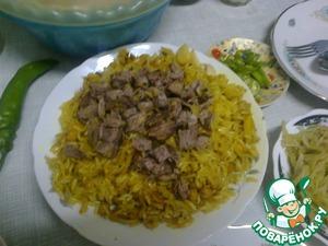 Рецепт Ташкентский плов домашний
