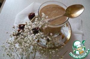 Рецепт Десерт-фантазия на тему хушаф