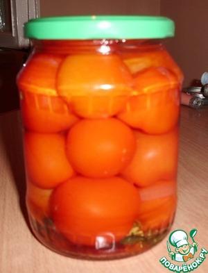 Рецепт Маринованные помидоры с лимонной кислотой