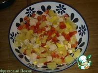 Салат из курицы и ананасов ингредиенты